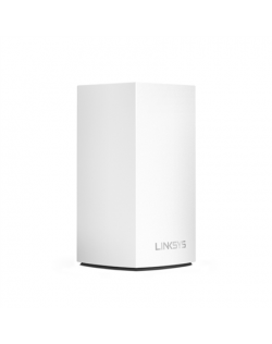 Linksys WHW0101 Velop Intelligent Mesh WiFi System, 1-Pack 802.11ac, 400+867 Mbit/s, 10/100/1000 Mbit/s, Ethernet LAN (RJ-45) po