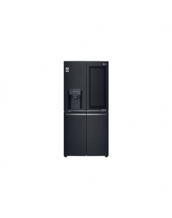 LG Refrigerator GMX844MCKV A+, Free standing, Side by Side, Height 180 cm, No Frost system, Fridge net capacity 280 L, Freezer n