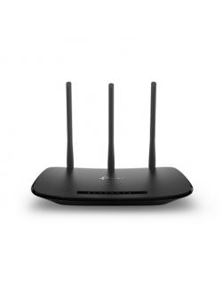 TP-LINK Router TL-WR940N 802.11n, 450 Mbit/s, 10/100 Mbit/s, Ethernet LAN (RJ-45) ports 4, Antenna type 3xExternal antennas