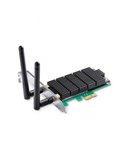 TP-LINK Archer T6E, Dual Band PCI Express Adapter 2.4GHz/5GHz, 802.11ac, 400+867 Mbps, 2xDetachable antennas