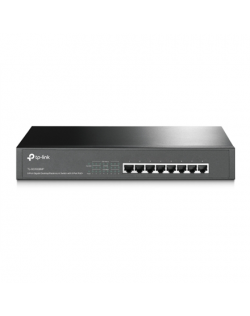 TP-LINK Switch TL-SG1008MP Unmanaged, Rack mountable, 1 Gbps (RJ-45) ports quantity 8, PoE+ ports quantity 8, Power supply type
