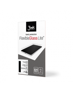 3MK FlexibleGlass Lite Screen protector, Apple, iPhone XI Pro Max, Unbreakable hybrid glass, Transparent