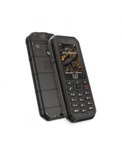"""CAT B26 Black, 2.4 """", TFT, 240 x 320, 8 MB, 8 MB, microSD, Single SIM, Main camera 2 MP, 1500 mAh"""