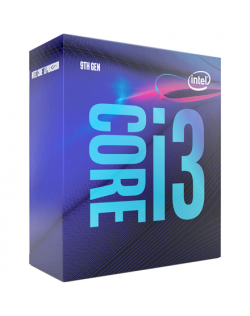 Intel i3-9100, 3.6 GHz, LGA1151, Processor threads 4, Packing Retail, Cooler included, Processor cores 4, Component for PC