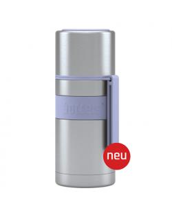 Boddels HEET Vacuum flask with cup Lavender blue, Capacity 0.35 L, Diameter 7.2 cm, Bisphenol A (BPA) free