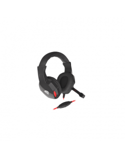 Genesis Gaming Headset, 3.5 mm, ARGON 120, Black, Built-in microphone