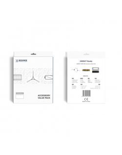 Ecovacs DEEBOT Buddy Accessory set DN5G-KTA for DEEBOT OZMO 905, 3x filter set, 1x main brush, 4x side brushes