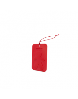 Mr&Mrs Cesare Scented card JCESTES006 Scent for Car, Peppermint, EVA, Red