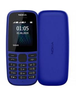 """Nokia 105 TA-1203 Blue, 1.77 """", TFT, 120 x 160 pixels, 4 MB, 4 MB, Single SIM, USB version microUSB, 800 mAh"""