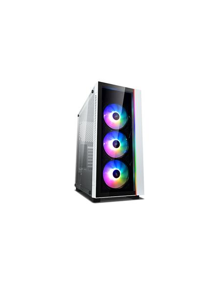 Deepcool MATREXX 55 V3 ADD-RGB WH 3F White, ATX, Power supply included No