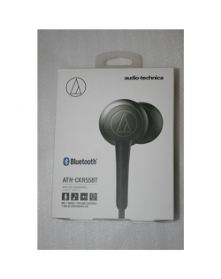 SALE OUT. Audio Technica ATH-CKR55BT Bluetooth, Neckband, Microphone, DEMO, Black