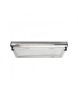 Eleyus Hood PBN L 09 110 60 IS Conventional, Energy efficiency class D, Width 60 cm, 207 m³/h, Mechanical control, LED, Inox