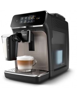 Philips Espresso Coffee maker EP2235/40 Pump pressure 15 bar, Built-in milk frother, Fully automatic, 1500 W, Black/Zinc brown