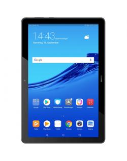 "Huawei MediaPad T5 10.1 "", Black, IPS LCD, 1920x1200, HiSilicon Kirin 659, 2 GB, 32 GB, Wi-Fi, Front camera, 2 MP, Rear camera,"