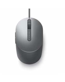 Dell Laser Mouse MS3220 wired, Titan Grey, Wired - USB 2.0