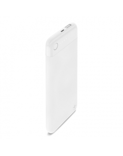 Belkin BOOST↑CHARGE™ Power Bank 5K With Lightning Connector F7U045btWHT 5000 mAh, White