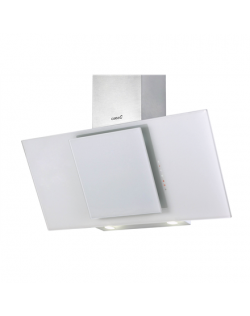Hood CATA Ceres 900XGWH Wall mounted, Energy efficiency class E, Width 90 cm, 560 m³/h, Touch control, Halogen, White glass