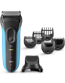 Braun Shaver with trimmer Series 3 Shave&Style 3010BT Cordless, Charging time 1 h, Operating time 45 min, Wet use, NiMH, Number