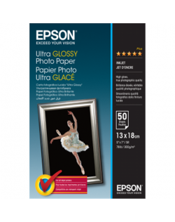 Epson Ultra Glossy Photo Paper 50 sheets, 13 x 18 cm, 300 g/m²