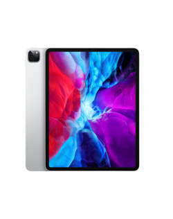 "Apple IPad Pro 2020 Wi-Fi+Cellular 12.9 "", Silver, Liquid Retina display, 2732 x 2048, A12Z Bionic chip with 64-bit architecture Neural Engine Embedded M12 coprocessor, 6 GB, 128 GB, Wi-Fi, Front camera, 7 MP, Rear camera, 12 MP, Bluetooth, 5.0, iPadOS"
