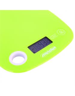 Mesko Kitchen scale MS 3159g Maximum weight (capacity) 5 kg, Graduation 1 g, Green