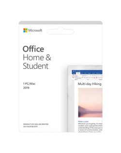 Microsoft Office Home and Student 2019 79G-05163 One-time purchase, Russian, Medialess, P6