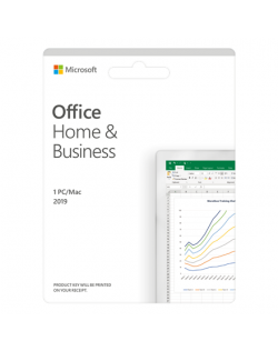 Microsoft Office Home and Business 2019 T5D-03316 One-time purchase, Latvian, Medialess, P6