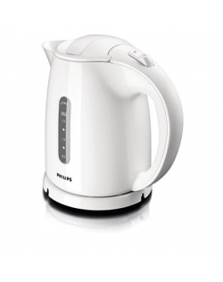 Philips Kettle HD4646/00 Standard, Plastic, White, 2400 W, 360° rotational base, 1.5 L