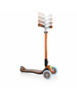 GLOBBER Scooter Elite Prime Flashing Orange 444-804