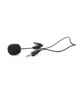 Gembird Clip-on microphone MIC-C-01 Black