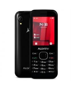 "Allview M8 Stark Black, 2.4 "", TFT, 240 x 320 pixels, Dual SIM, Bluetooth, 2.0, Built-in camera, Main camera 0.3 MP, 1000 mAh"