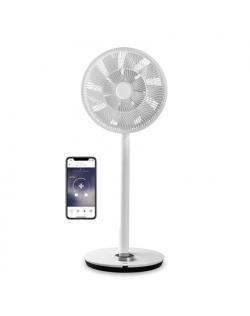 Duux Smart Fan Whisper Flex Stand Fan, Timer, Number of speeds 26, 3-27 W, Oscillation, Diameter 34 cm, White