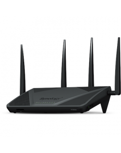 Synology Router RT2600ac 802.11ac, 2533 Mbit/s, 10/100/1000 Mbit/s, Ethernet LAN (RJ-45) ports 4, Mesh Support Yes, MU-MiMO Yes,