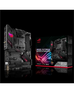 Asus ROG STRIX B550-E GAMING Memory slots 4, Processor family AMD, ATX, DDR4, Processor socket AM4, Chipset AMD B