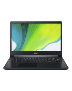 "Acer Aspire 7 A715-75G-599A Charcoal Black, 15.6 "", IPS, FHD, 1920 x 1080 pixels, Matt, Intel Core i5, i5-9300H, 8 GB, DDR4, SSD 512 GB, NVIDIA GeForce TX 1650Ti, GDDR6, 4 GB, No ODD, Windows 10 Home, 802.11 ax/ac/a/b/g/n, Bluetooth version 5.0, Keyboard language English, Keyboard backlit, Warranty 24 month(s), Battery warranty 12 month(s)"