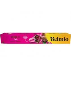 Belmoca Belmio Sleeve Lungo Forte Coffee Capsules for Nespresso coffee machines, 10 capsules, Coffee strength 8/12, 100 % Arabic