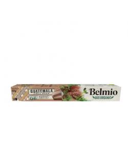 Belmoca Belmio Sleeve BIO/Single Origine Guatemala Coffee Capsules for Nespresso coffee machines, 10 aluminum capsules, Coffee s