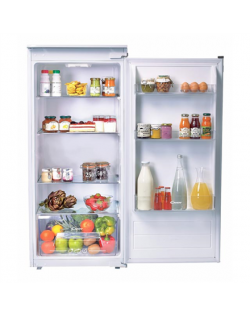 Candy Refrigerator CIL 220 NE A+, Built-in, Larder, Height 122.5 cm, Fridge net capacity 197 L, 40 dB, White