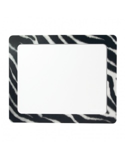 Logilink ID0168 Mouse pad, 230x190 mm, Photo, Zebra