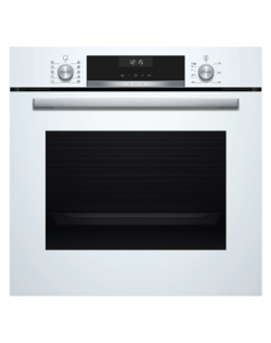 Bosch Oven HBT517CW0S 71 L, A, Electric, Regular, Mechanical, Height 59.5 cm, Width 59.4 cm, White, Multifunctional