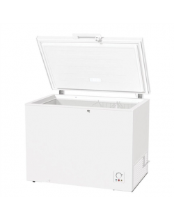 Gorenje Freezer FH301CW F, Chest, Free standing, Height 85 cm, Total net capacity 303 L, No Frost system, White