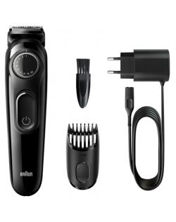 Braun Beard trimmer BT3222 Cordless, Number of length steps 20, Black