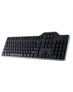 Dell KB813 Smartcard keyboard, Wired, Black, English