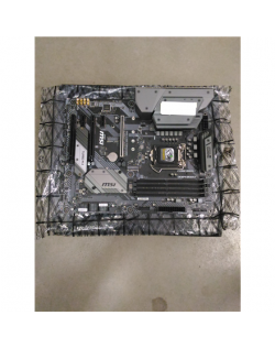 SALE OUT. MSI MAG B365M MORTAR MSI REFURBISHED WITHOUT ORIGINAL PACKAGING AND ACCESSORIES BACKPANEL INCLUDED