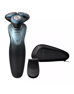 Philips Shaver S7940/16 Operating time 50 min, Wet use, Lithium Ion, Number of shaver heads/blades 3, Grey, Cordless