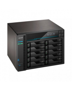 Asus AsusTor 10 Bay NAS AS6510T Up to 10 HDD/SSD, Intel ATOM C3538 Quad-Core, Processor frequency 2.1 GHz, 8 GB, SO-DIMM DDR4, B
