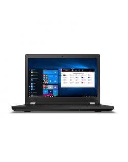 "Lenovo ThinkPad P15 (Gen 1) Black, 15.6 "", OLED, Touchscreen, Ultra HD, 3840 x 2160, Anti-reflection, Intel Core i9, i9-10885H, 32 GB, SSD 1000 GB, NVIDIA Quadro RTX 3000, GDDR6, 6 GB, No Optical drive, Windows 10 Pro, 802.11ax, Bluetooth version 5.1, LTE Upgradable, Keyboard language Nordic, Keyboard backlit, Warranty 36 month(s), Battery warranty 12 month(s)"
