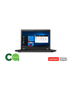 "Lenovo ThinkPad P17 (Gen 1) Black, 17.3 "", IPS, Full HD, 1920 x 1080, Matt, Intel Core i7, i7-10850H, 16 GB, SSD 512 GB, NVIDIA"
