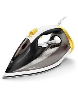 Philips Iron GC4544/80 Steam Iron, 2600 W, Water tank capacity 300 ml, Continuous steam 50 g/min, Black