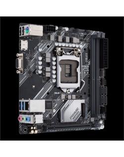 Asus PRIME H410I-PLUS Memory slots 2, Processor family Intel, Mini ITX, DDR4, Processor socket LGA1200, Chipset Intel H